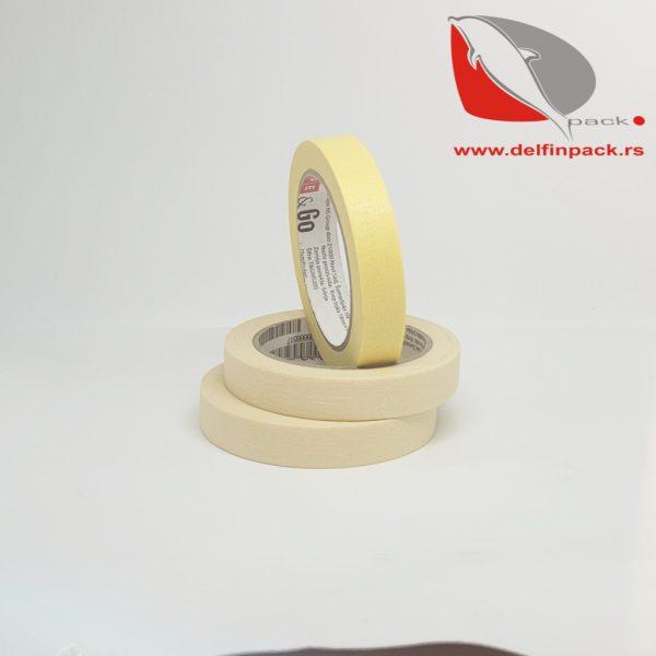 Krep traka IVORY 19 mm x 33 m 1