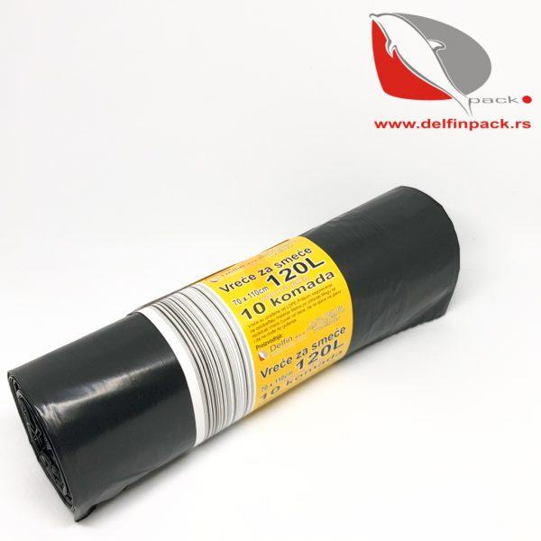 Vreće za smeće 120L LDPE x 0,05 mm 2