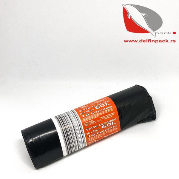 Vreće za smeće 60 L x 0,03 mm 2